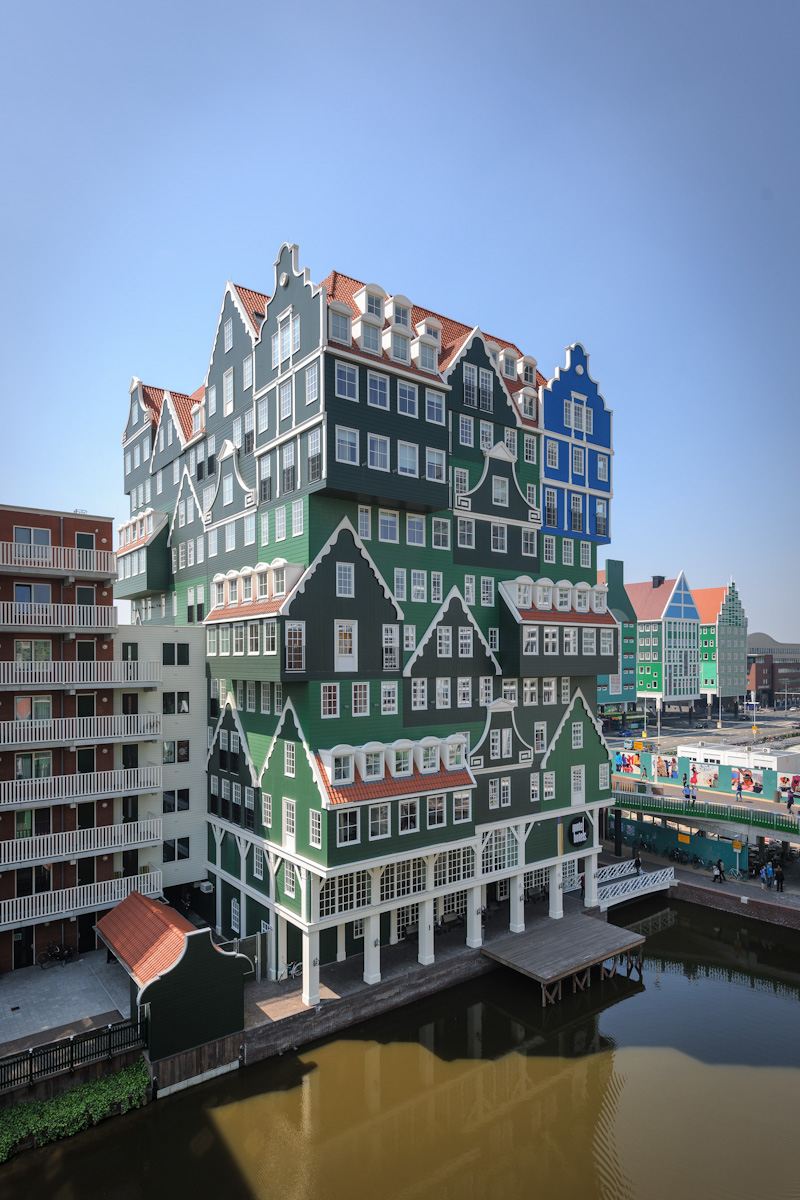 Hotel inntel zaandam zaandam architect wam architecten for Interieurarchitecten nederland