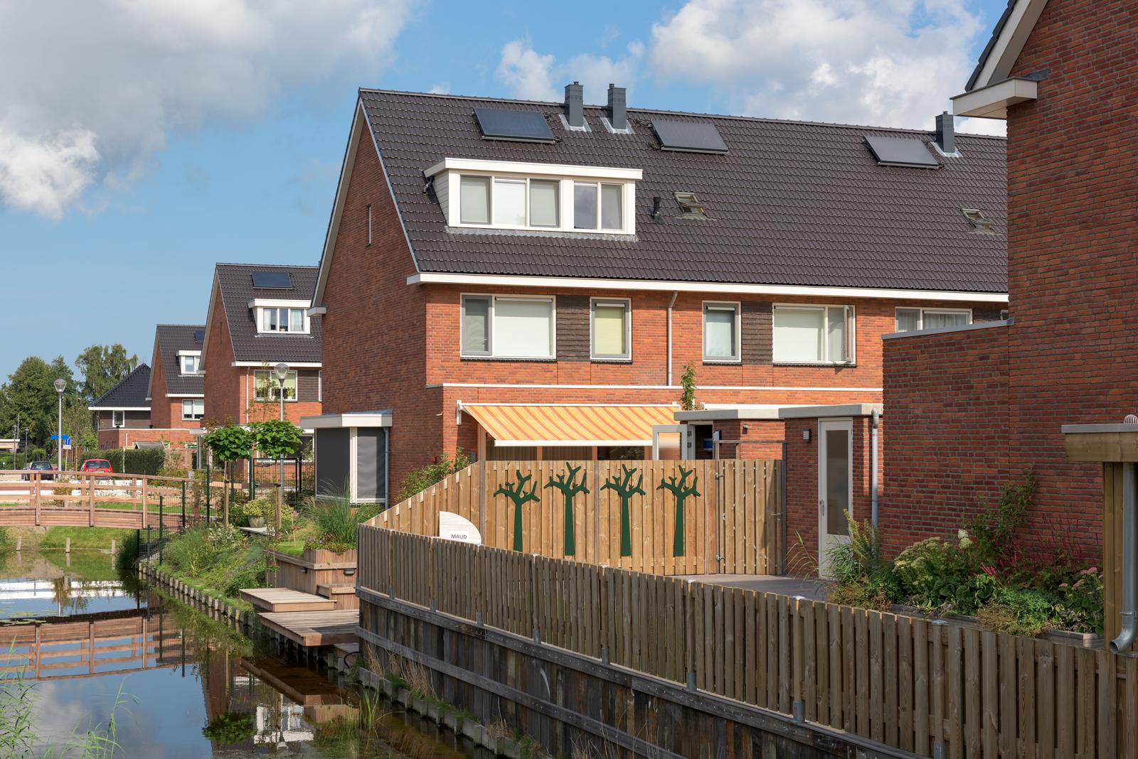 Voorhout plan engelse tuin maat architecten for Interieurarchitecten nederland