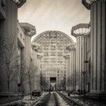 Parijs, Noisy le Grand, Les Arènes de Picasso, architect: Manuel Nunez Yanowsky