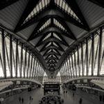 Lyon, TGV Station, architect: Santiago Calatrava