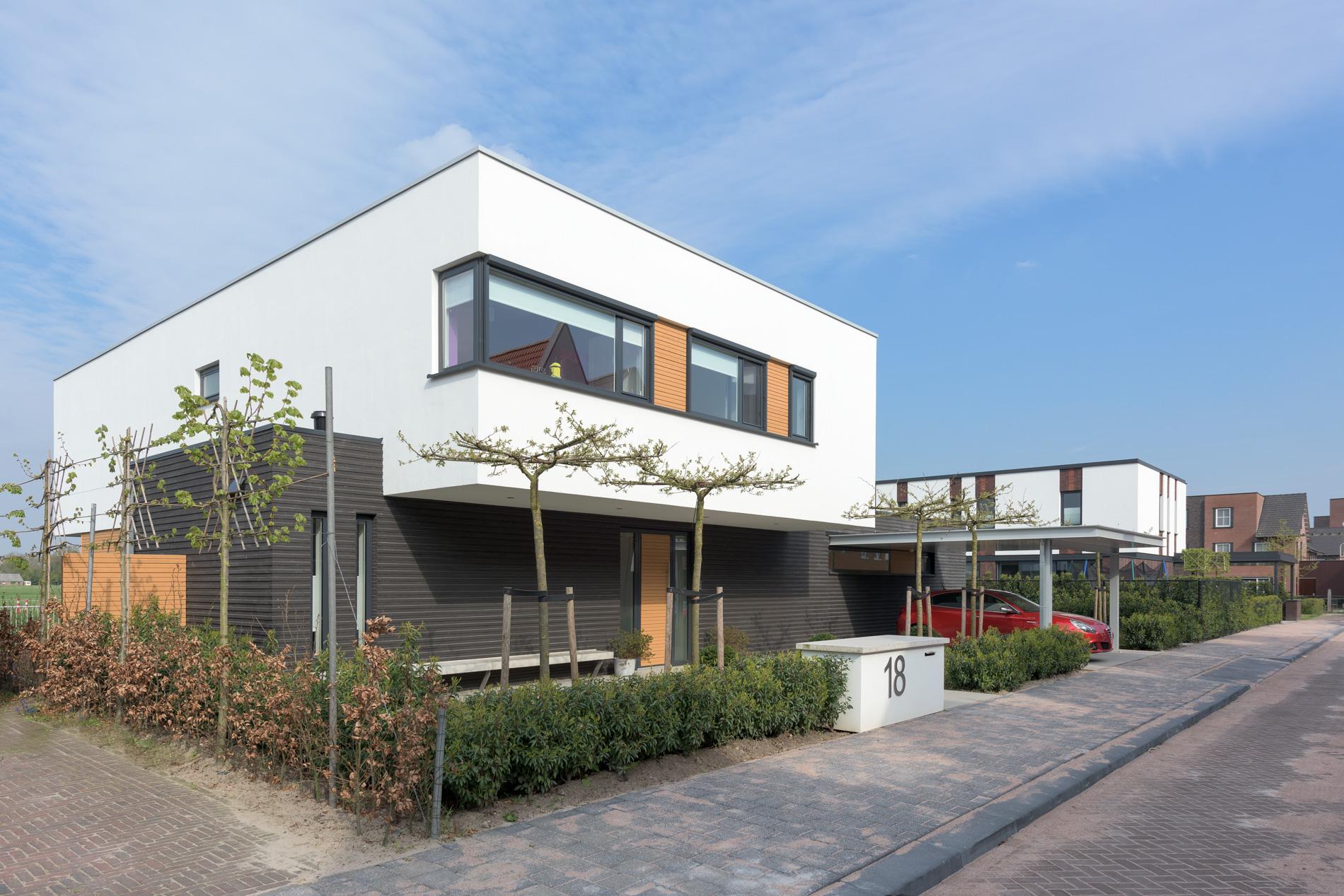 Amersfoort vathorst moderne architectuur op de baak van petten van 4d architecten - Moderne interieurarchitectuur ...