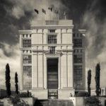 Montpellier, Antigone District, architect Ricardo Bofill
