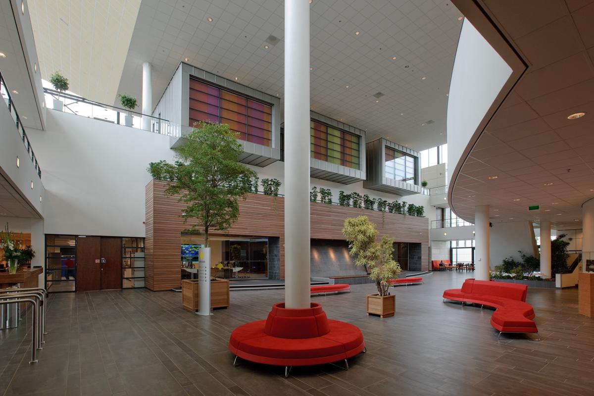 Interieur yokogawa amersfoort beltman architekten for Interieur architectuur