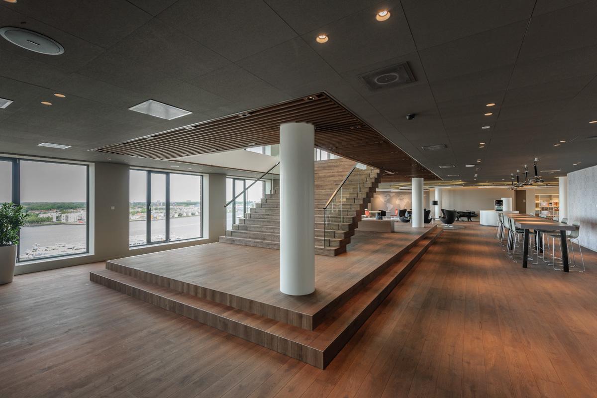 Interieur douwe egberts amsterdam for Interieur architectuur