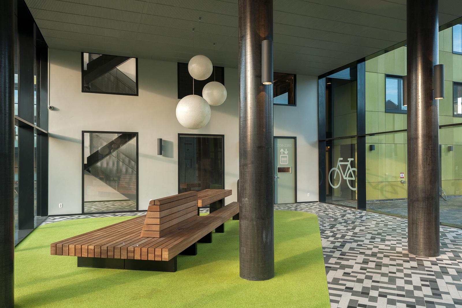 Studenten huisvesting science park amsterdam for Interieur architectuur
