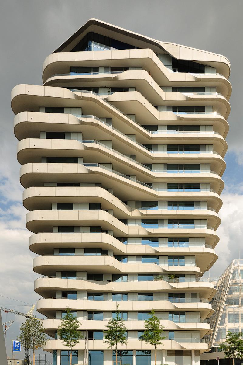 marco polo tower hafencity hamburg architect behnisch architekten. Black Bedroom Furniture Sets. Home Design Ideas